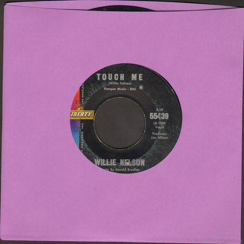 Nelson, Willie - Touch Me/Where My House Lives  - VG7/ - 45 rpm Records