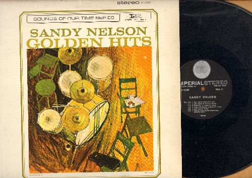 Nelson, Sandy - Golden Hits: Splish Splash, Kansas City, Walking To New Orleans, What'd I Say, Be Bop Baby, I Want To Walk You Home (Vinyl STEREO LP record) - EX8/EX8 - LP Records
