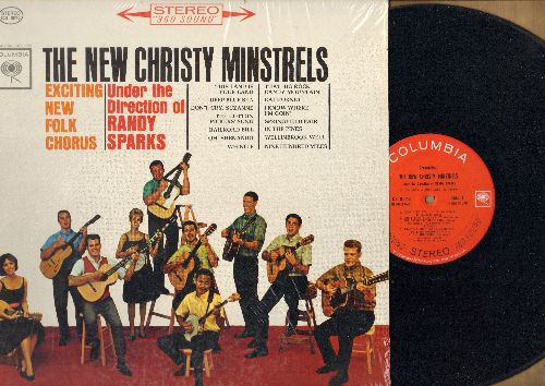 New Christy Minstrels - The New Christy Minstrels - Exciting New Folk Chorus: This Land Is Our Land, Deep Blue Sea, The Cotton Pickers' Song, Nine Hundred Miles (Vinyl STEREO LP record) - NM9/NM9 - LP Records