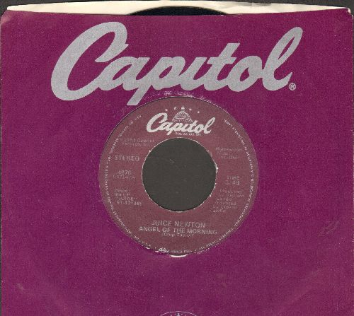 Newton, Juice - Angel Of Morning/Headin' For A Heartache  - NM9/ - 45 rpm Records