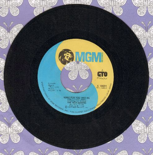 New Seekers - Song For You And Me/You Won't Find Another Fool Like Me - EX8/ - 45 rpm Records