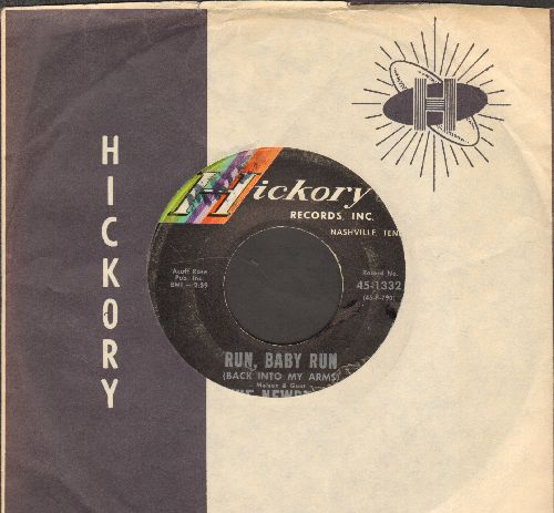 Newbeats - Run, Baby Run/Mean Woolly Willie (with company sleeve) - EX8/ - 45 rpm Records