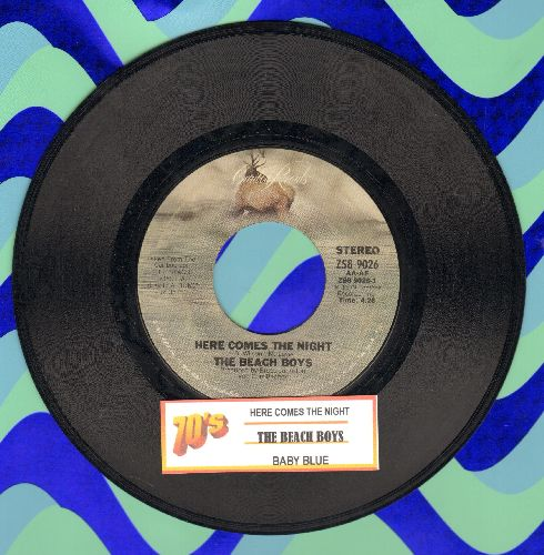 Beach Boys - Here Comes The Night/Baby Blue (with juke box label) - EX8/ - 45 rpm Records