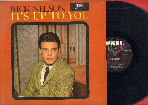Nelson, Rick - It's Up To You: Shirley Lee, Boppin' The Blues, Baby Won't You Please Come Home, I Need You (vinyl MONO LP record) - NM9/NM9 - LP Records