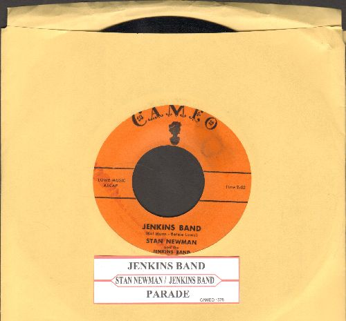 Newman, Stan & The Jenkins Band - Jenkins Band/Parade (Wild 50s Frat-Party Sound!) (with juke box label) - NM9/ - 45 rpm Records