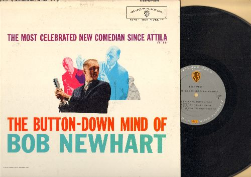 Newhart, Bob - The Button-Down Mind Of Bob Newhart: The original comedy LP that started it all! - NM9/EX8 - LP Records