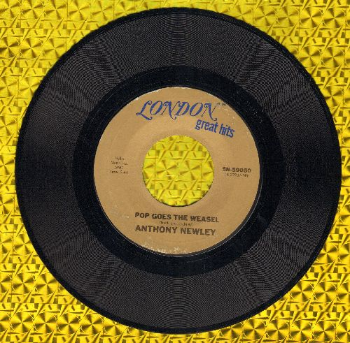 Newley, Anthony - Pop Goes The Weasel/What Kind Of Fool Am I (double-hit re-issue) - NM9/ - 45 rpm Records