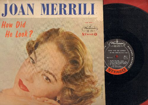 Merrill, Joan - How Did He Look?: Sentimental Journey, Am I Blue?, My Old Flame (vinyl STEREO LP record) - EX8/VG7 - LP Records