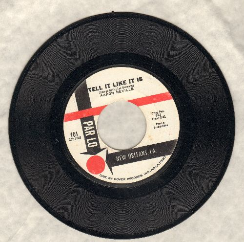 Neville, Aaron - Tell It Like It Is/Why Worry (NICE condition!) - NM9/ - 45 rpm Records