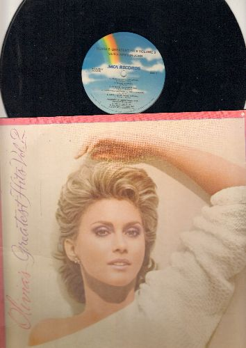 Newton-John, Olivia - Greatest Hits Vol. 2: Magic, Physical, Xanadu, Hopelessly Devoted To You (Vinyl STEREO LP record, gate-fold cover first issue) - EX8/EX8 - LP Records
