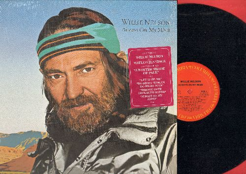 Nelson, Willie - Always On My Mind: A Whiter Shade Of Pale, Let It Be Me, The Party's Over (vinyl STEREO LP record, with shrink wrap) - EX8/NM9 - LP Records