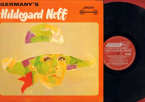 Knef, Hildegard - Germany's Hildegard Neff (aka Knef): Eins und eins das macht zwei, Meckie Messer, Heimweh nach dem Kurfurstendamm (Vinyl MONO LP record, British Pressing of German recordings) - NM9/NM9 - LP Records