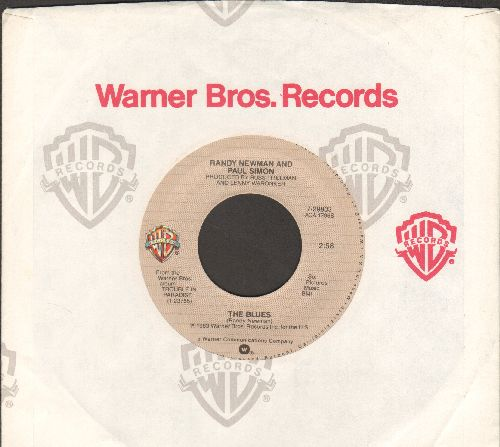 Newman, Randy & Paul Simon - The Blues/Same Girl (with Warner Brothers company sleeve) - NM9/ - 45 rpm Records