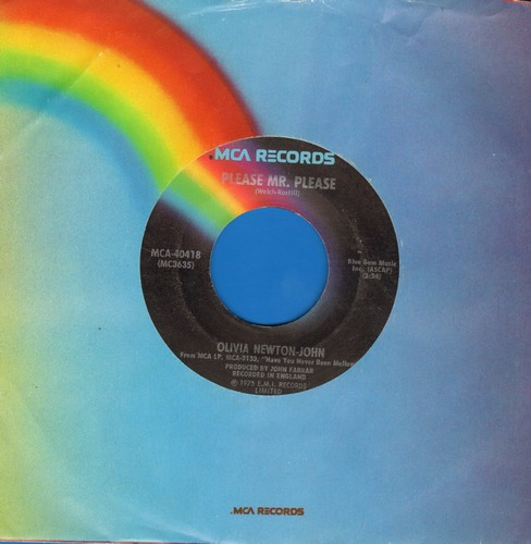 Newton-John, Olivia - Please Mr. Please/And In The Morning  - EX8/ - 45 rpm Records