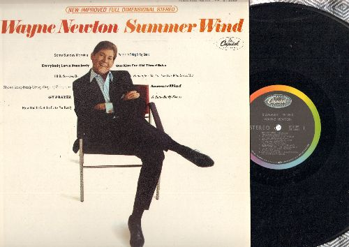 Newton, Wayne - Summer Wind: Everybody Loves Somebody, A Little Bit Of Heaven, One Kiss For Old Times' Sake (Vinyl STEREO LP record) - NM9/NM9 - LP Records