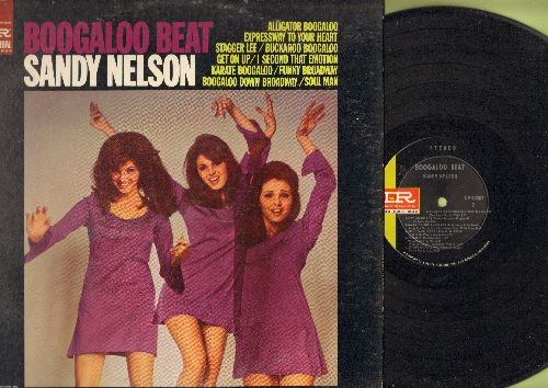 Nelson, Sandy - Boogaloo Beat: Soul Man, Boogaloo Down Broadway, Stagger Lee, Karate Boogaloo (Vinyl STEREO LP record) - NM9/VG7 - LP Records