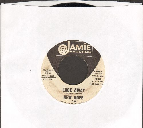 New Hope - Look Away/The Money Game (DJ advance pressing) - VG7/ - 45 rpm Records