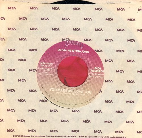 Newton-John, Olivia - You Made Me Love You/Suddenly (duet with Cliff Richard) (MINT condition with MCA company sleeve) - NM9/ - 45 rpm Records