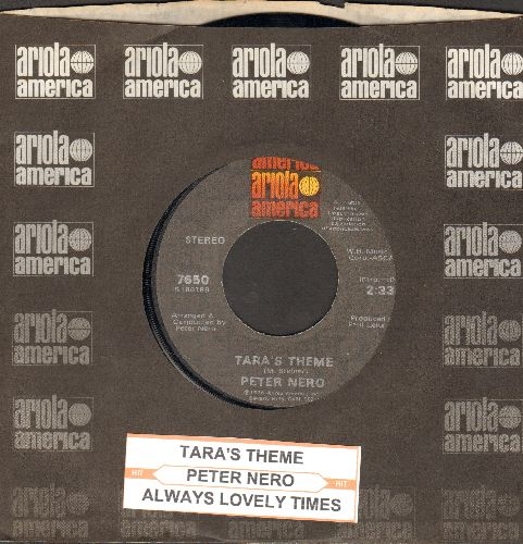 Nero, Peter - Tara's Theme/Always Lovely Times (with juke box label and Ariola company seeve) - NM9/ - 45 rpm Records