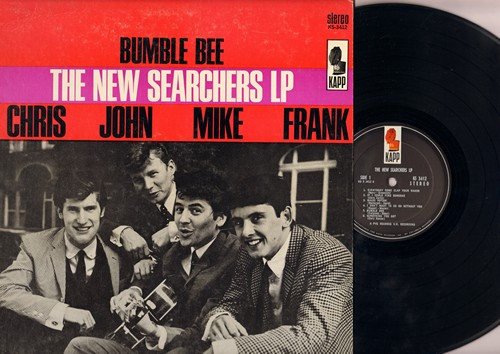 New Searchers - The New Searchers LP: Everybody Come Clap Your Hands, Magic Potion, Till You Say You Are Mine, Goodnight Baby (Vinyl STEREO LP record) - VG7/VG6 - LP Records