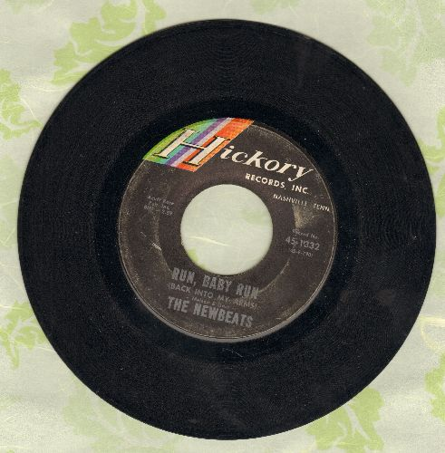 Newbeats - Run, Baby Run/Mean Woolly Willie - EX8/ - 45 rpm Records