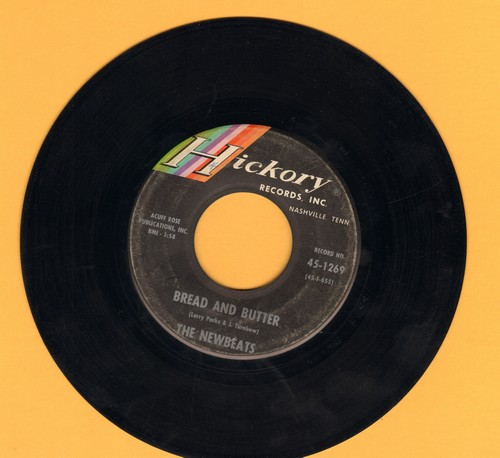Newbeats - Bread And Butter/Tough Little Buggy - EX8/ - 45 rpm Records