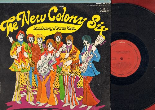 New Colony Six - Attacking A Starw Man: Free, Ride The Wicked Wind, I Want You To Know, Come Away With You, Blue Eyes (Vinyl STEREO LP record) - VG7/EX8 - LP Records
