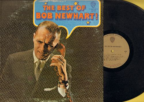 Newhart, Bob - The Best Of Bob Newhart! - Hilarious Comedy Routines by the Kind of the Dead Pan Humor (Vinyl MONO LP record) - EX8/VG7 - LP Records