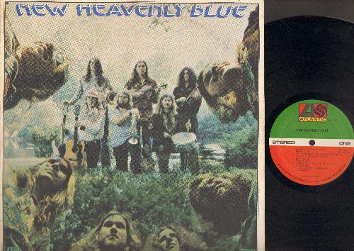New Heavenly Blue - New Heavenly Blue: Love You Tonite, Pegleg (Back In 35), Hard Lovin' Man, The Idol, Tulsa Oklahoma Blues (Vinyl STEREO LP record) - NM9/VG7 - LP Records