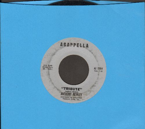 Newly, Anthony - Tribute/Lament For A Hero (JFK Tribute two-sider) - VG7/ - 45 rpm Records