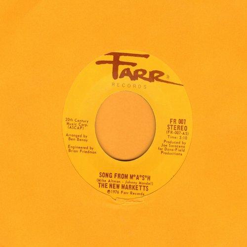 New Marketts - Song From M*A*S*H/Song From M*A*S*H (Disco) - NM9/ - 45 rpm Records