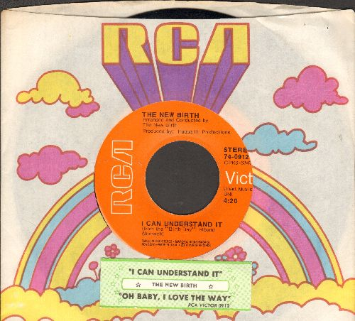 New Birth - I Can Understand It/Oh Baby, I Love The Way (with juke box label and RCA company sleeve) - NM9/ - 45 rpm Records