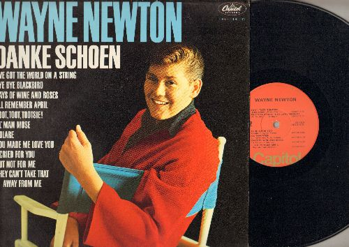 Newton, Wayne - Wyane Newton: Danke Schoen, Volare, Toot Toot Tootsie, You Made Me Love You, Bye Bye Blackbird (Vinyl MONO LP record, orange label 1970s pressing, NICE condiion!) - NM9/NM9 - LP Records