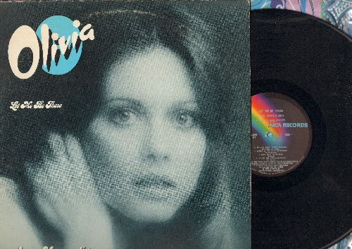 Newton-John, Olivia - Let Me Be There: Me And Bobby McGee, Take Me Home Country Roads, Angel of The Morning  (Vinyl STEREO LP record) - EX8/EX8 - LP Records