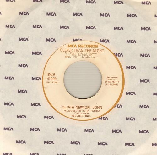 Newton-John, Olivia - Deeper Than The Night/Please Don't Keep Me Waiting - EX8/ - 45 rpm Records