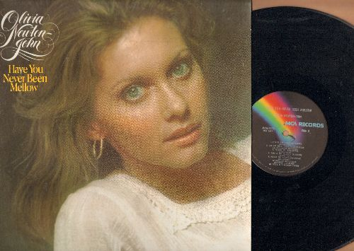 Newton-John, Olivia - Have You Never Been Mellow: The Air That I breathe, Follow Me, Please Mr. Please, Goodbye Again (vinyl LP record) - NM9/NM9 - LP Records