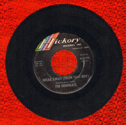 Newbeats - Break Away (From That Boy)/Hey-O-Daddy-O  - EX8/ - 45 rpm Records