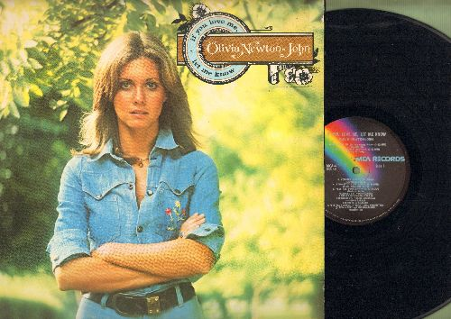 Newton-John, Olivia - If You Love Me, Let Me Know: I Honestly Love You, God Only Knows, Mary Skeffington (vinyl LP record) - EX8/EX8 - LP Records