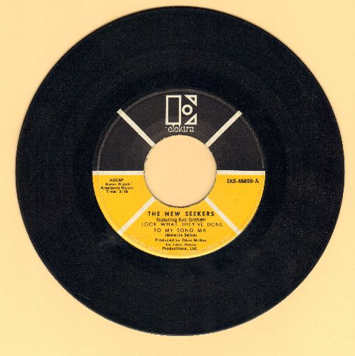 New Seekers - Look What They've Done To My Song Ma/It's A Beautiful Day  - VG7/ - 45 rpm Records