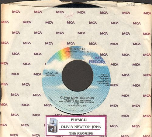 Newton-John, Olivia - Physical/The Promise (with juke box label and MCA company sleeve) - NM9/ - 45 rpm Records