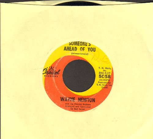 Newton, Wayne - Shirl Girl/Someone's Ahead Of You - VG7/ - 45 rpm Records