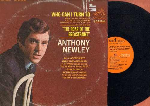 Newley, Anthony - Who Can I Turn To: Feeling Good, Look At That Face, The Joker (Vinyl STEREO LP record) - NM9/VG6 - LP Records