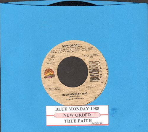 New Order - Blue Monday 1988/True Faith - NM9/ - 45 rpm Records