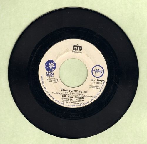 New Seekers - Come Softly To Me/Pinball Wizard/See Me, Feel Me  - NM9/ - 45 rpm Records