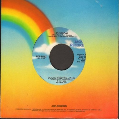Newton-John, Olivia - Physical/The Promise - NM9/ - 45 rpm Records