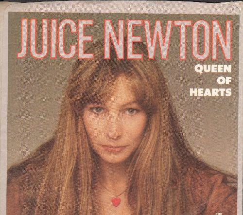 Newton, Juice - Queen Of Hearts/River Of Love (with picture sleeve) - EX8/VG7 - 45 rpm Records