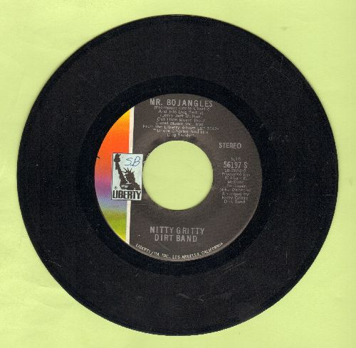 Nitty Gritty Dirt Band - Mr. Bojangles (LONG version and SHORT version) - EX8/ - 45 rpm Records