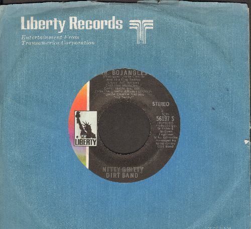 Nitty Gritty Dirt Band - Mr. Bojangles (LONG version and SHORT version with Liberty company sleeve) - NM9/ - 45 rpm Records