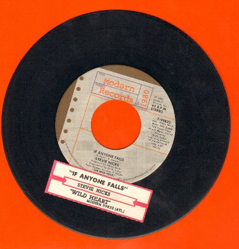Nicks, Stevie - If Anyone Falls/Wild Heart (with juke box label) - EX8/ - 45 rpm Records