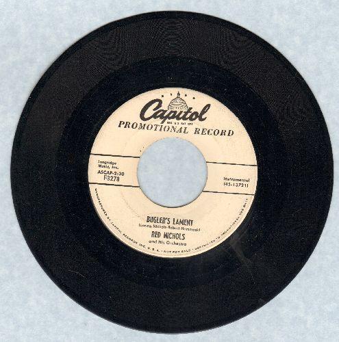 Nichols, Red & His Five Pennies - Glory, Glory/Buglar's Lament (DJ advance pressing) - EX8/ - 45 rpm Records